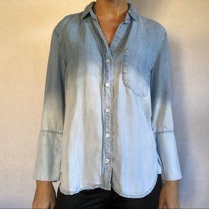 Anthropologie | Cloth & Stone Shirt Chambray XS